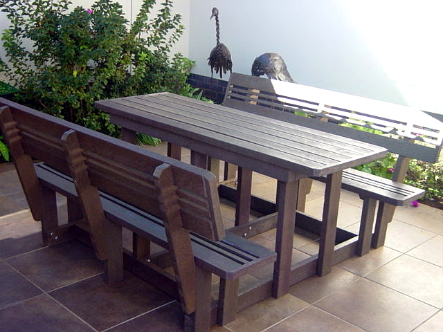 Picnic Table With Back Rest Vememu